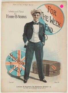 Vesta Tilley, by Harry Générés Banks, published by  Bertram Feldman, and published by  Joseph W. Stern & Co - NPG D42837