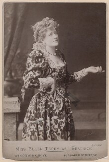 Ellen Terry as Beatrice in 'Much Ado About Nothing', by Window & Grove, circa 1891 - NPG  - © National Portrait Gallery, London