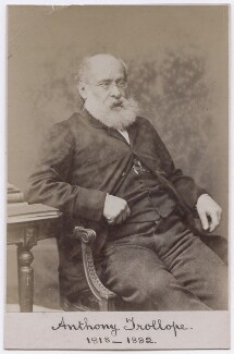 Anthony Trollope, by Elliott & Fry - NPG x197419