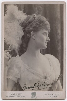 Frances Evelyn ('Daisy') Greville (née Maynard), Countess of Warwick, by Walery - NPG x197421
