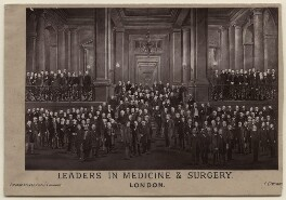 'Leaders in Medicine & Surgery', by London Stereoscopic & Photographic Company - NPG x197426