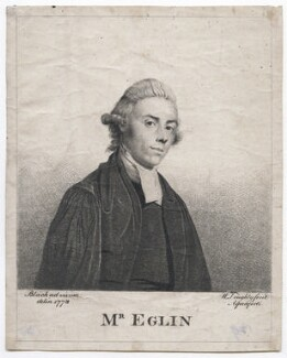 probably Thomas Eglin, by William Doughty, after  Mary Black - NPG D43011