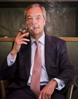 Nigel Farage, by Francesco Guidicini - NPG x139682