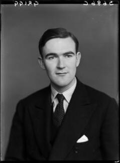 John Edward Poynder Grigg, 2nd Baron Altrincham, by Walter Stoneman - NPG x190371