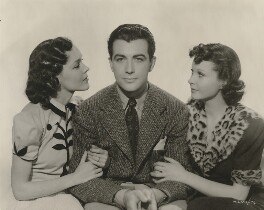 Maureen O'Sullivan; Robert Taylor; Vivien Leigh in 'A Yank at Oxford', by Unknown photographer - NPG x139687