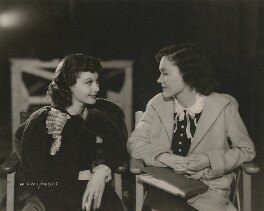 Vivien Leigh; Maureen O'Sullivan in 'A Yank at Oxford', by Unknown photographer - NPG x139688