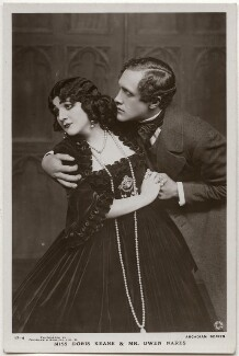 Doris Keane and Owen Ramsay Nares in 'Romance', by Foulsham & Banfield, published by  J.J. Samuels Ltd - NPG x139694