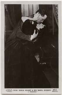 Basil Sydney and Doris Keane in 'Romance', by Foulsham & Banfield, published by  J. Beagles & Co - NPG x139695