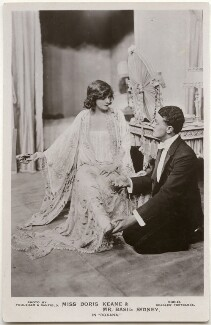 Doris Keane and Basil Sydney in 'Roxana', by Foulsham & Banfield, published by  J. Beagles & Co - NPG x139698