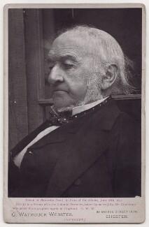 William Ewart Gladstone, by George Watmough Webster - NPG x139711