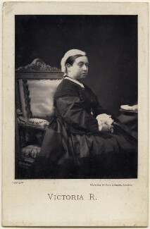Queen Victoria, by Waterlow & Sons Ltd, after  Disdéri - NPG x197430