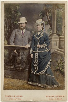 King Edward VII; Queen Alexandra, by James Russell & Sons - NPG x197438