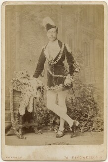 Prince Arthur, 1st Duke of Connaught and Strathearn as a fairy prince, by Alexander Bassano - NPG x197442