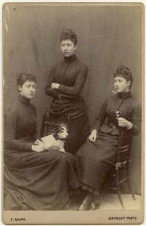 The daughters of King Edward VII, by Frederick William Ralph - NPG x197444