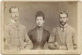 Three eldest children of King Edward VII, by W. & D. Downey - NPG x197451
