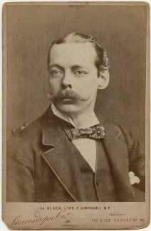 Lord Randolph Churchill, by London Stereoscopic & Photographic Company - NPG x197458