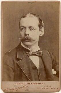 Lord Randolph Churchill, by London Stereoscopic & Photographic Company, 1886 - NPG x197458 - © National Portrait Gallery, London