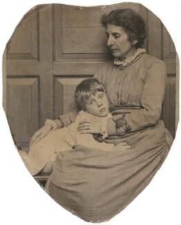 Hubert Edward Dannreuther; Chariclea Anthea Euterpe Dannreuther (née Ionides), by Frederick Hollyer - NPG x197461