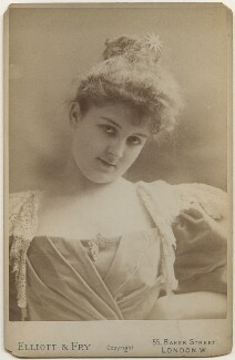 Mary Carolyn Campbell ('May', née Cuyler), Lady Grey-Egerton, by Elliott & Fry - NPG x197466