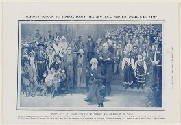 Oxford's Honour to General Booth: The New D.C.L. and his world-wide army (William Booth; (William) Bramwell Booth), published by Illustrated London News - NPG D43014