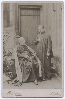 Herbert Alfred Henry Joseph Thomas Vaughan; Bernard John Vaughan, by Lafayette (Lafayette Ltd), early 1890s - NPG x197483 - © National Portrait Gallery, London