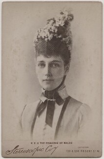 Queen Alexandra, by London Stereoscopic & Photographic Company - NPG Ax197500