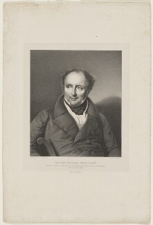 George William Chad, by F. Ross, printed by  C. Graf, after  Franz Krüger - NPG D43018