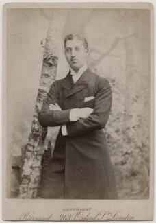 Prince Albert Victor, Duke of Clarence and Avondale, by Herbert Rose Barraud - NPG Ax197504
