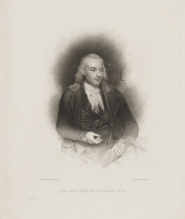 Thomas Le Mesurier, by Edward Francis Finden, after  Sir William Beechey - NPG D43019