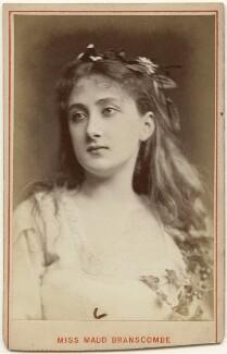 Maud Branscombe, by London Stereoscopic & Photographic Company - NPG x197490