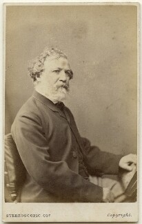 Robert Browning, by London Stereoscopic & Photographic Company - NPG x197493