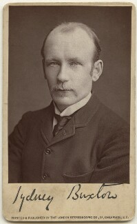 Sydney Charles Buxton, Earl Buxton, by London Stereoscopic & Photographic Company - NPG x197494