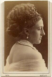 Louise Frederica Augusta Cavendish (née von Alten), Duchess of Devonshire (formerly Duchess of Manchester), by Adèle - NPG x197514