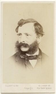 William Charles Thomas Dobson, by Elliott & Fry - NPG x197515