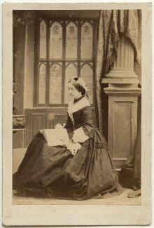 Frances Elizabeth Jocelyn (née Cowper), Viscountess Jocelyn, by Camille Silvy - NPG x197529