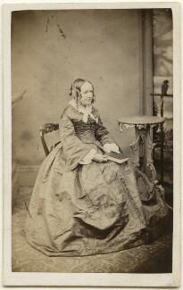 Elizabeth Augusta (née Raymond), Lady Lluellyn, by William Usherwood - NPG x197534