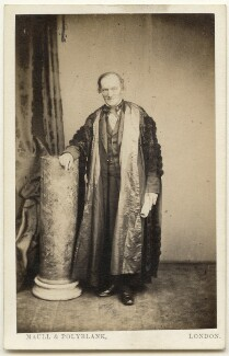 Sir Richard Owen, by Maull & Polyblank - NPG x197542