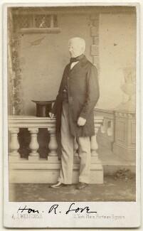 Robert Lowe, 1st Viscount Sherbrooke, by A.J. (Arthur James) Melhuish - NPG x197553