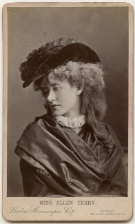 Ellen Terry as Philippa Chester in 'The Wandering Heir', by London Stereoscopic & Photographic Company - NPG x197559