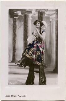 Ethel Negretti, by Bassano Ltd, published by  Aristophot Co Ltd - NPG x139714