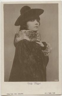 Pola Negri, by Atelier Eberth, published by  Verlag Herm - NPG x139715