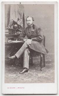 King Edward VII, by Disdéri - NPG x197567