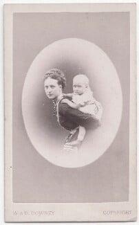 Queen Alexandra; Princess Louise, Duchess of Fife, by W. & D. Downey - NPG x197570