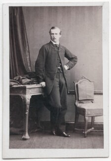 Louis IV, Grand Duke of Hesse and by Rhine, by Camille Silvy - NPG x197574