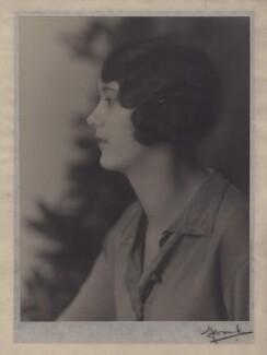 Hon. Diana Elizabeth Margaret Skeffington, by Madame Yevonde - NPG x182253