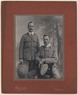 John Vaughan; Douglas Haig, 1st Earl Haig, by Duffus Bros - NPG x182264