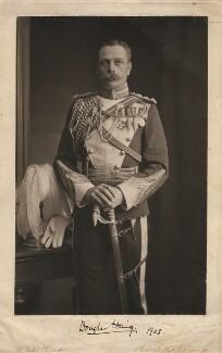 Douglas Haig, 1st Earl Haig, by H. Walter Barnett - NPG x182279