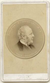Augustus Peter Arkwright, by Bernieri, Caldesi & Co - NPG x197576
