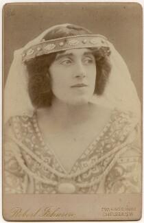 Mrs Patrick Campbell, by Robert Johnson - NPG x197579