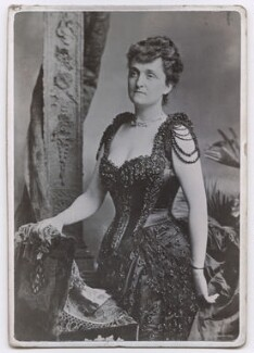 Consuelo Montagu (née Yznaga), Duchess of Manchester, by Unknown photographer - NPG x197583